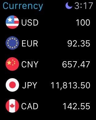 währungsrechner offline Screenshot