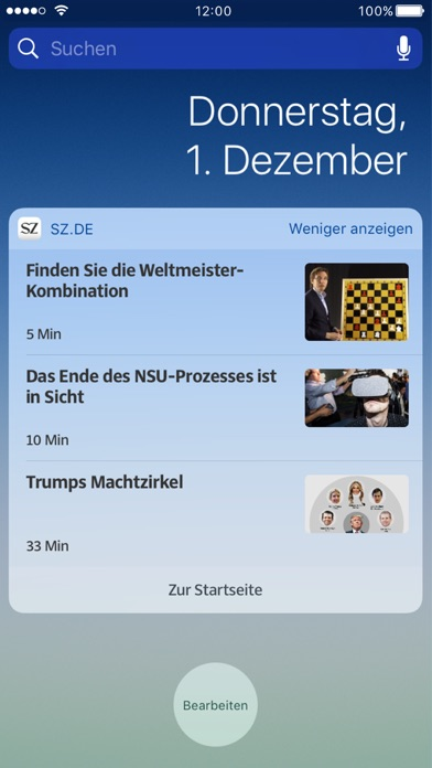 Szde Nachrichten review screenshots