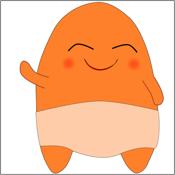 Bibi Orange Stickers app review
