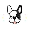 KIM KON KET - French BullDog Animated  artwork