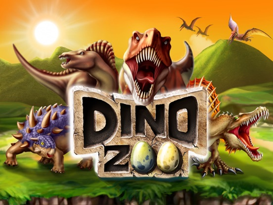 Dinosaur Zoo-The Jurassic game на iPad