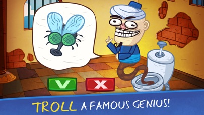 Troll Face Quest Video Games 2 Screenshot on iOS