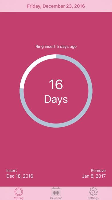 MyRing - Ring Contraceptive Screenshot