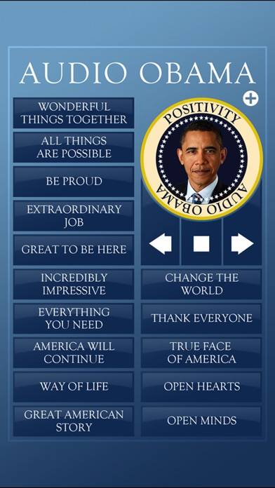 Audio Obama - soundboard Скриншоты6
