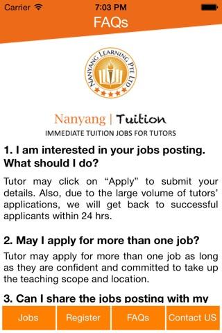 Nanyang Tuition screenshot 1