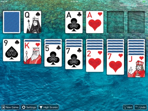 Real Solitaire Pro for iPad screenshot 2