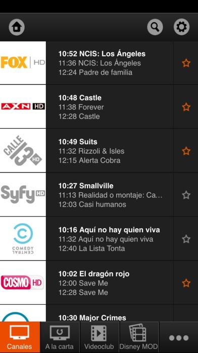 orange tv app report on mobile action. Black Bedroom Furniture Sets. Home Design Ideas