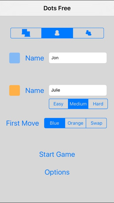 Screenshots of Dots Free for iPhone