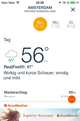 AccuWeather: Weather for Life screenshot 3