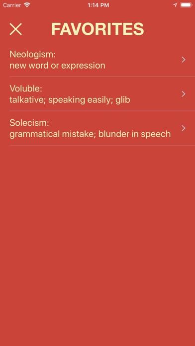 Vocabulary - Learn New Words Screenshots