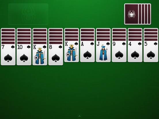 ⋆Spider Solitaire на iPad
