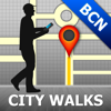 Barcelona Map & Walks (F)