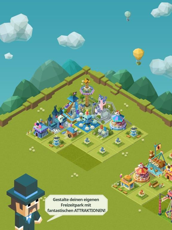 Screenshot 1 2048 Tycoon: Theme Park Mania