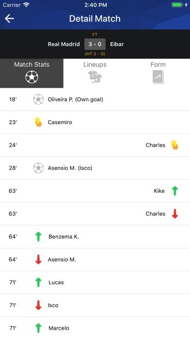 Screenshot #7 for Football TV - Football Scores