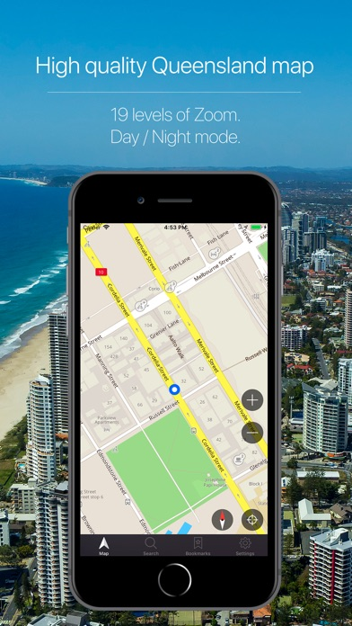 Screenshot for Queensland Offline Navigation in France App Store