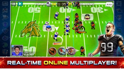 Screenshot #6 for Football Heroes Pro Online - NFL Players Unleashed