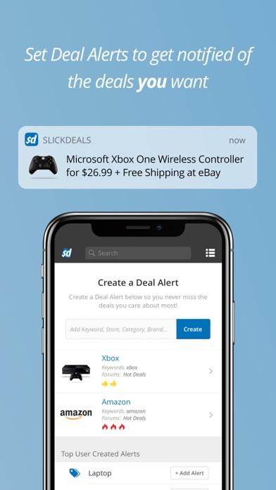 Screenshot 4 for SlickDeals's iPhone app'