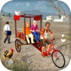 Off Road Bicycle Rickshaw Sim