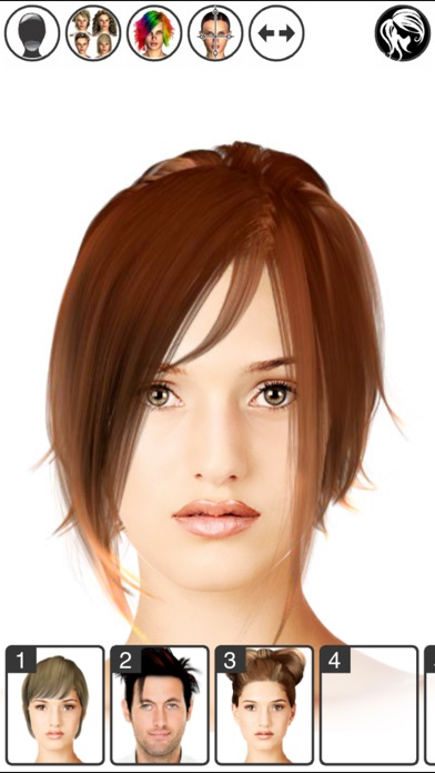 Hair styling app gratis