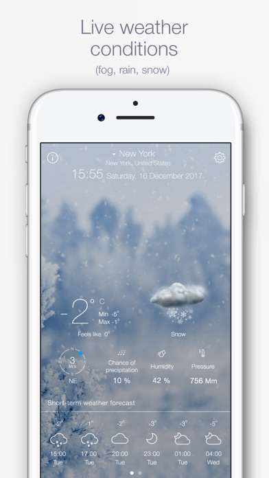 Weather for Meスクリーンショット