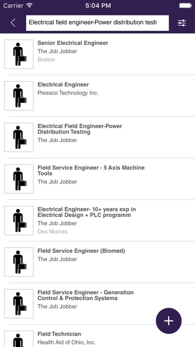 iLook Jobs screenshot 4