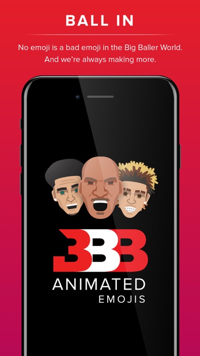 Big Baller Brand Emojis screenshot 2
