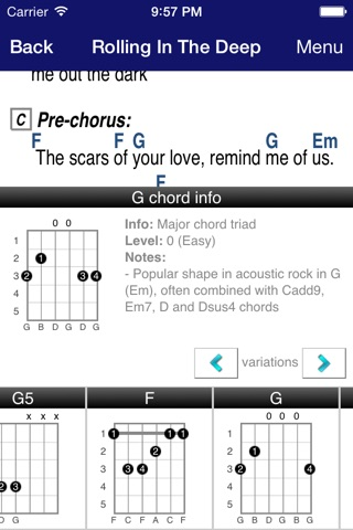 GuitarTapp PRO - Tabs & Chords screenshot 3