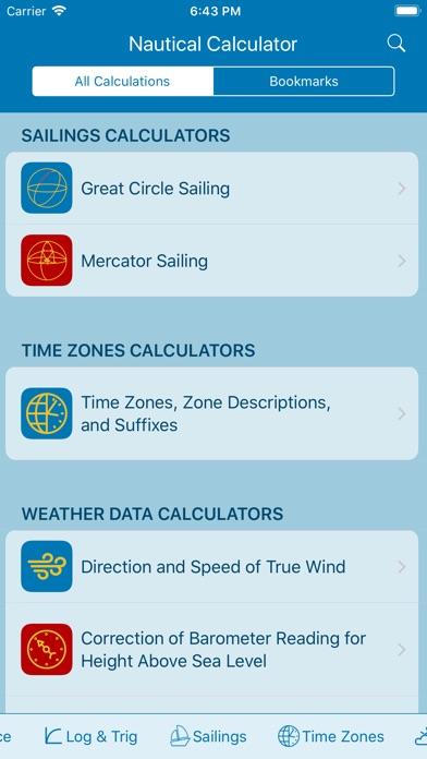 Nautical Calculator On The App Store - Above sea level calculator