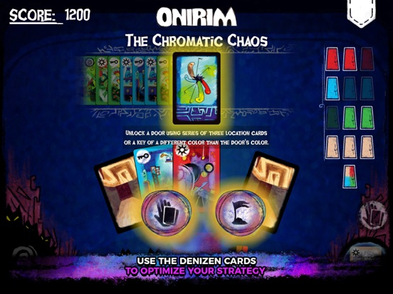 Screenshot #5 for Onirim - Solitaire Card Game
