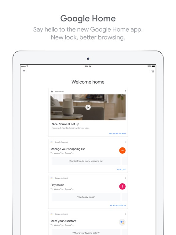 google home app for iphone