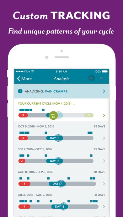 download Clue - Health & Period Tracker apps 3
