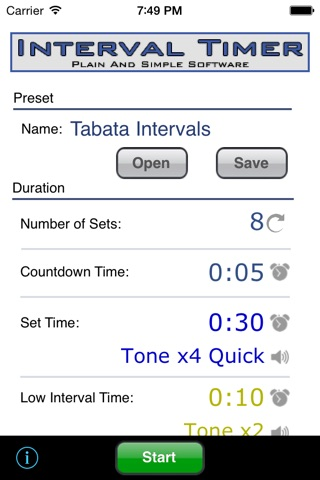 Interval Timer screenshot 1