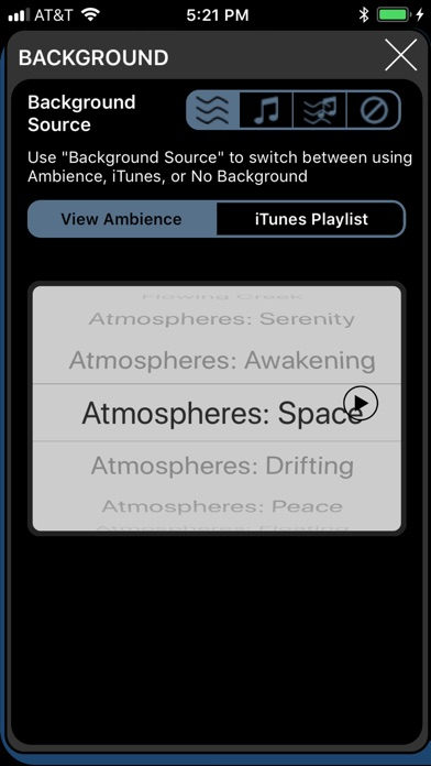BrainWave Binaural Headache Relief with Ambience Screenshots
