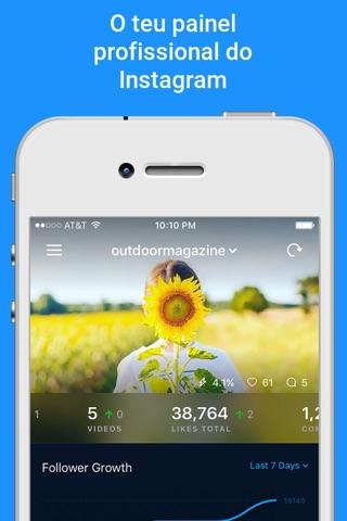 Followers + EA - Analytics for Instagram screenshot 1