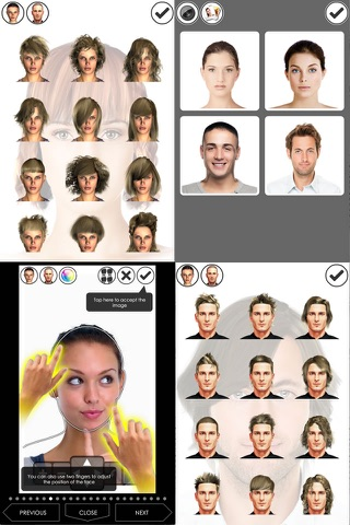 Hairstyle Magic Mirror screenshot 2