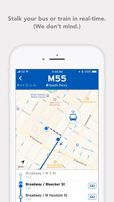 download Transit • Bus & Subway Times apps 1