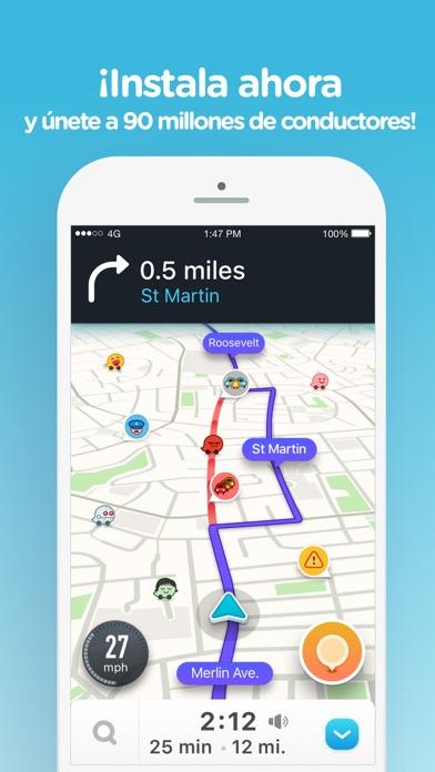 download Waze Navegación y Tráfico apps 4