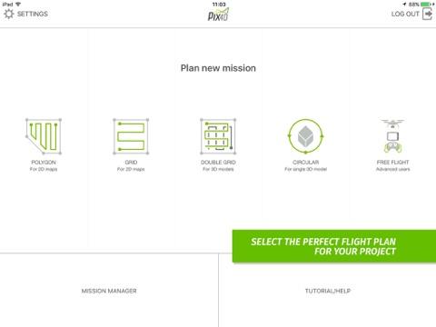 Pix4Dcapture iPhone用アプリ - からiOS用ダウンロード Pix4D