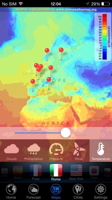 3D Земля - виджет погода Скриншоты7