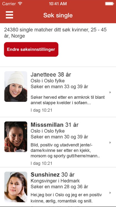 internet dating and me hedmark