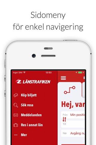 Länstrafiken Jämtland screenshot 1