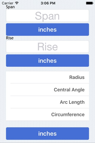Radius Calculator screenshot 2