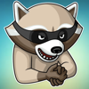download Criminal Raccoon! Stickers