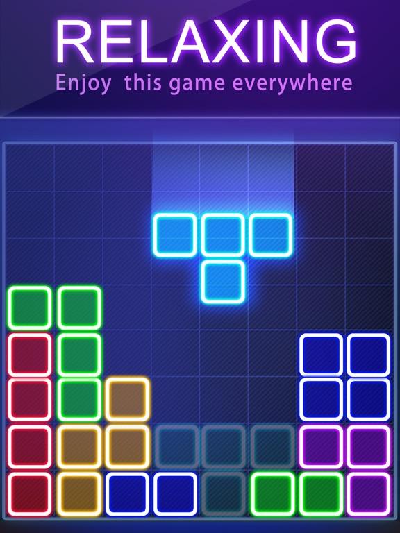 головоломка блок - свечение для iPad