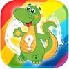 Cartoon Dinosaur Puzzles Games for World Jurassic