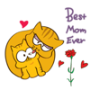 Kitty and Mother Cat Sticker Wiki