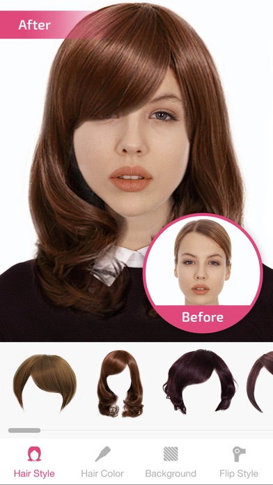 Hairstyle Changer man hair style photo editor hair changer Iphone Screenshot 1