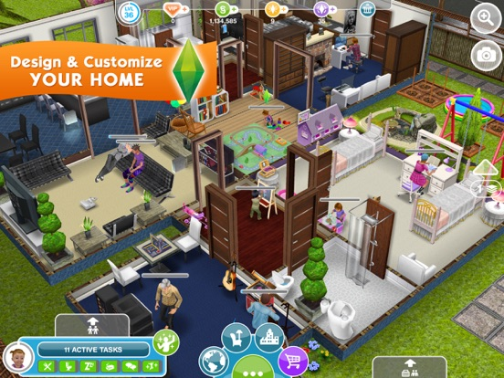 The Sims™ FreePlay Screenshots