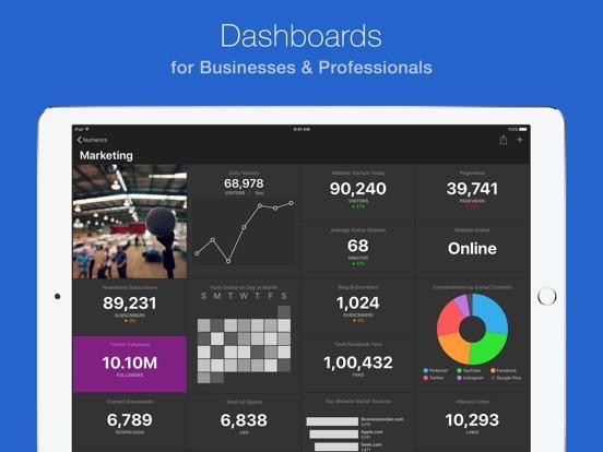 Numerics Screenshot