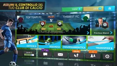 Screenshot of Football Management Ultra 20181
